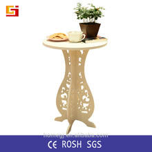 Muebles para el hogar mesa plegable pequeña barato ronda portátil