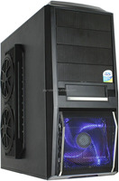 Tool Free ATX/MicroATX Gaming Cases Mid Tower Computer Case with 200w Power Supply