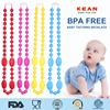 Newest Baby Silicone Teething Large Fashion Bib Necklace