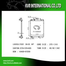 auto cooling radiator for DAIHATSU MIRA/OPTI/MOVE 16400-97209