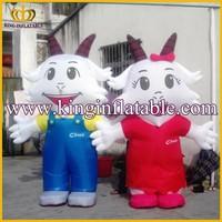 Cheap Inflatable Costumes Walking Mascot, Advertising Walking Inflatable Advertising Moving Cartoon