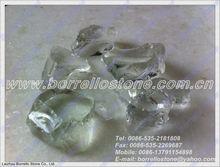 Clear White Glass Rock 3-5cm