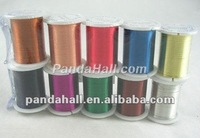 Mixed Colored Jewelry Copper Wire, 0.3mm Beading Wire Reel(CWMC)