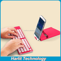 Bluetooth Keyboard Case For Samsung Galaxy S4 Cell Phone Foldable Bluetooth Keyboard WIth Aluminum Case