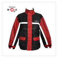 190T polyester motorcycles rain coat