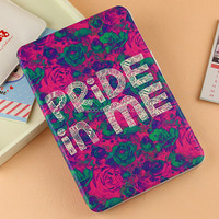 high quality new leahter case for ipad case leather