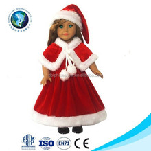 Festival Gift Santa Clause plush Christmas doll 2015 stuffed Toys From Christmas Supplies
