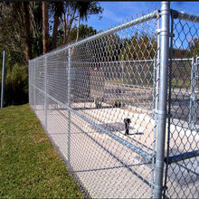 China Heavily galvanized chain link fence for sale