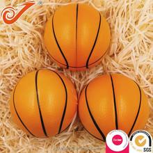 Cheap pu stress ball,Pu foam ball promotion small basketball stress ball