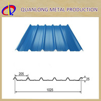 Long Span Color Coated Metal Roofing Sheet