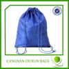 Nylon advertising promotional drawstring printed pouch bag