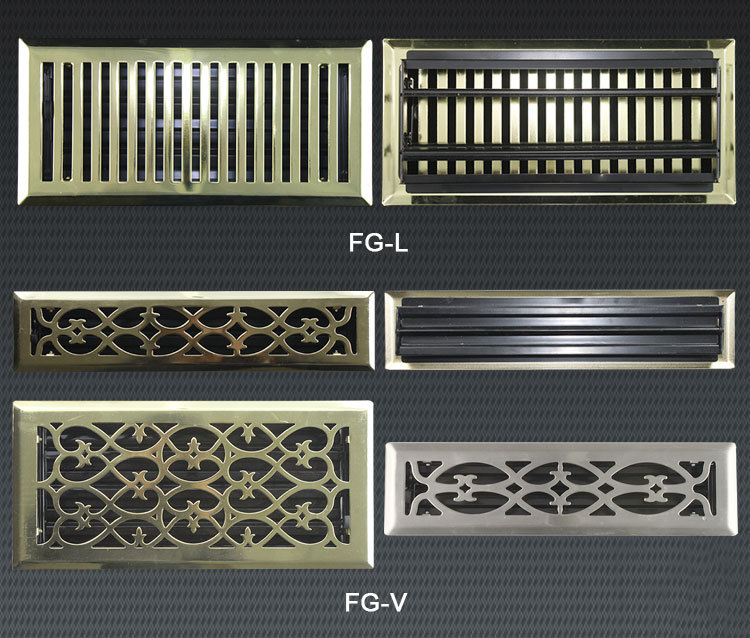 Hvac System Ventilation Grilles For Doors Compound Wall