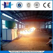 Biomass rice husk pellet burner for grain dryer