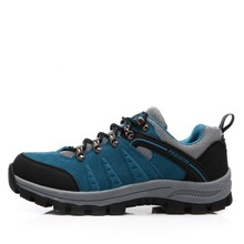2015 New design light and colorful mens waterproof hiking shoes