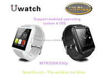 Bluetooth smart watch U8L touch screen watch phone for samsung android phone, tablet pc