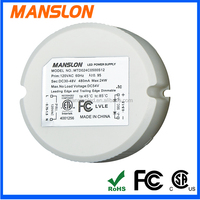 CSA FCC ROHS Approval 24W Dimmable LED Driver
