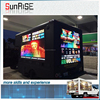 P10 trailer video led display led display billboard mobile led display trailer