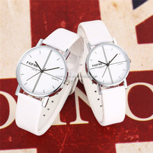 Leather Lover Watches Couple watches White