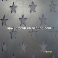 Direct Factory Five Star Shape Punched Metal Mesh