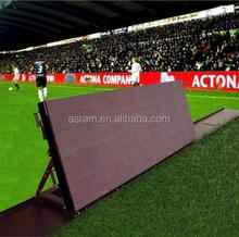 high resolution and brightness and super slim ,P6,P8,P10,P12.5, p20 p16 SMD or DIP advertising boards football