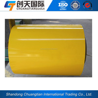 0.11-1.0mm thickness 650-1250mm width various colour coating steel plate