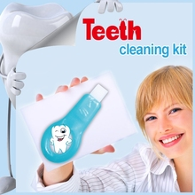 Patent Promotional Product Dog Grooming Tooth Whitening Kit Promotion