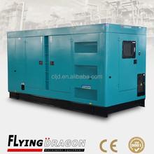 Imported diesel engine silent generator 240kw,original USA diesel silent generators 300kva