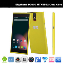 "Original Android Phone Elephone P2000 5.5"" Octa Core MTK6592 Android 4.4 13MP Cheapest Cell Phone"
