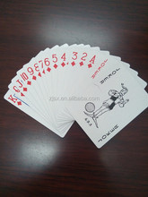Cheapest price top quality playing card paper