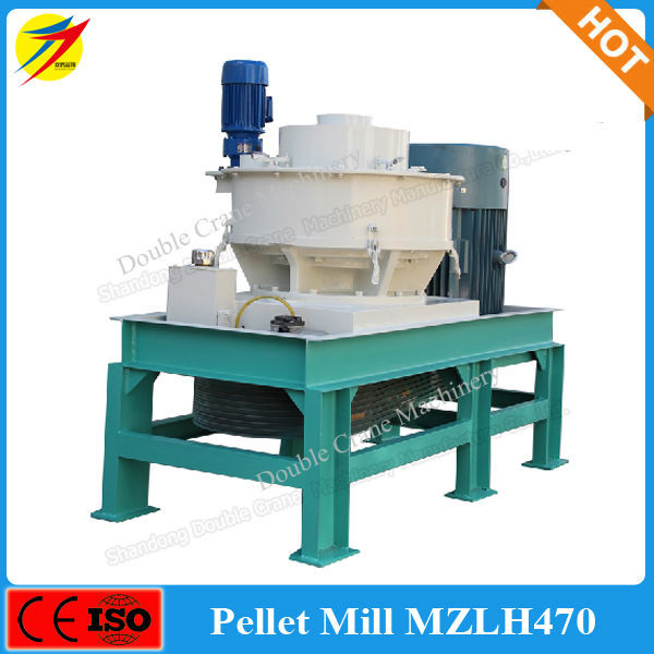High efficiency biomass wood pellet press machine for sale