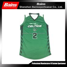 High quality custom sublimation 2014 new design basketball uniform design