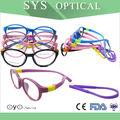 gafas redondas de diseño soft marcos de anteojos de gafas de niño