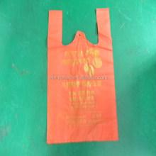 printed carrier plastic bag