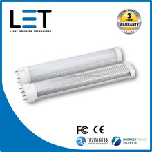 Energy saving PC cover 2g11 led 4 pin base led linear light 1180 lumens 16w 400mm smd2835 HONGLI/MASON leds CRI>80