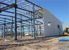 Cheapest easy installation prefabricated manufactured warehouse
