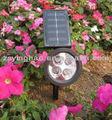 de plástico de valores lúmenes de alto punto de luz solar solar de calle del led la luz del punto
