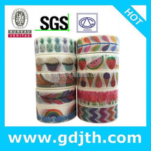 1392 patterns whole custom printed tape,rice paper japanese mt colorful masking adhesive triangle rose tape DIY Free shipping