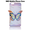 2015 wholesale customized IMD phone cases for iphone 5/5s cover, 3D butterfly IMD case for iphone 5c case