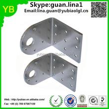 Custom Stainless Steel Slotted Corner Cabinet Hanging Bracket