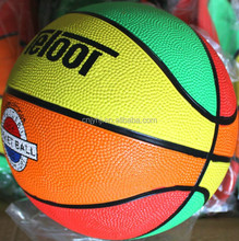 factory professional colorful rubber basketball
