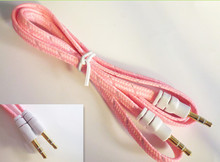 3.5mm stereo male to female audio aux cable stereo plug to jack av cable micro usb 3.5mm cable