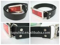 2015 Fashionable led name badges name plate belts (manufacturer&wholesale)
