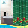 Fabric Polyester Hookless Metal Christmas Curtain