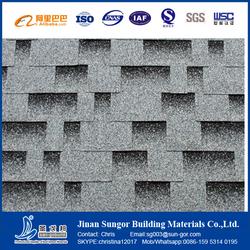 Fiberglass&Asphalt Material Plain Roof Tiles Type Red Asphalt Shingles