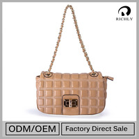 Hot New Products Top Grade Personalized Leather Underarm Bag