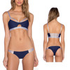 Fashional OEM custom bikini swimwear for mature woman