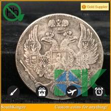 Coin poltina Masonic Eagle 1829 sf NG, a copy of the coin