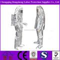 De aluminio de calor de aislamiento ignífugo traje de lucha contra incendios equipos