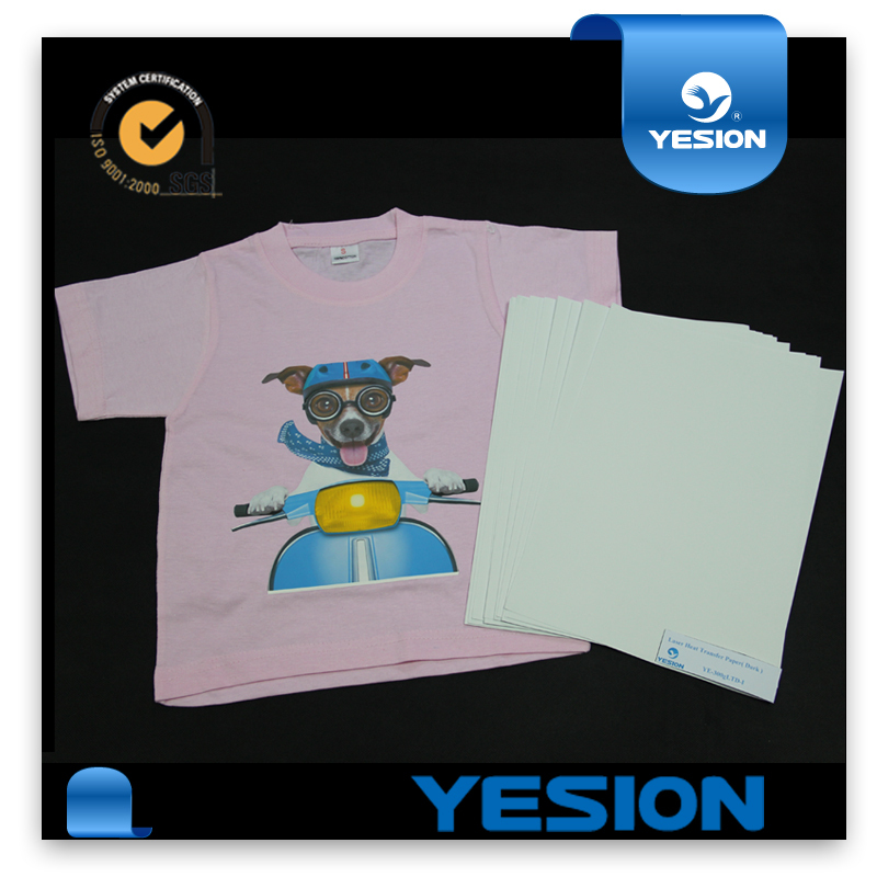 Factory Sell Directly Heat Cotton Fabric Transfer Paper