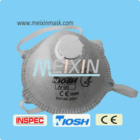 EN149 N95 dust masks custom printed dust mask respiratory mask/free printable face masks
